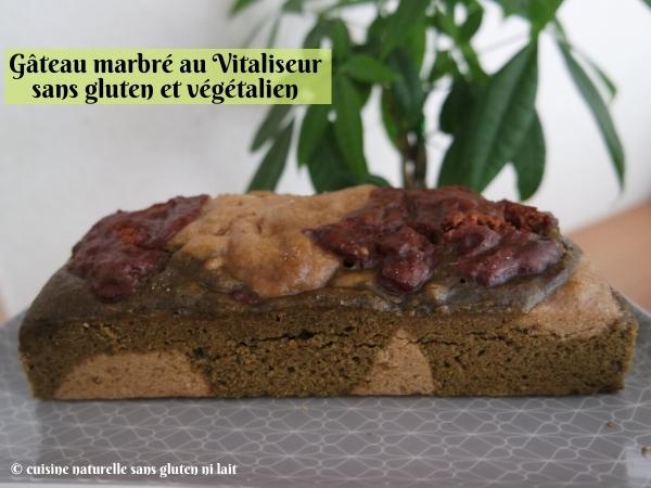 Marbré sans gluten et vegan