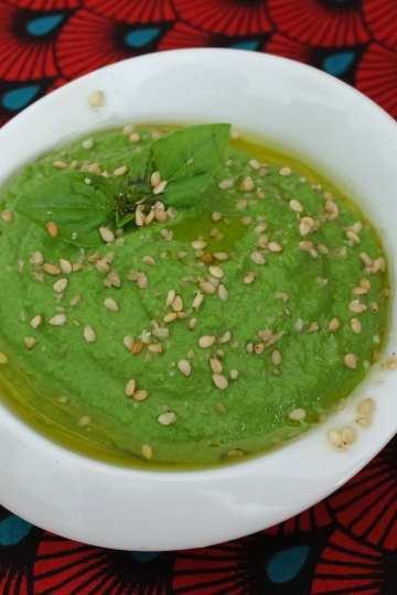 Pesto vegan kale basilic