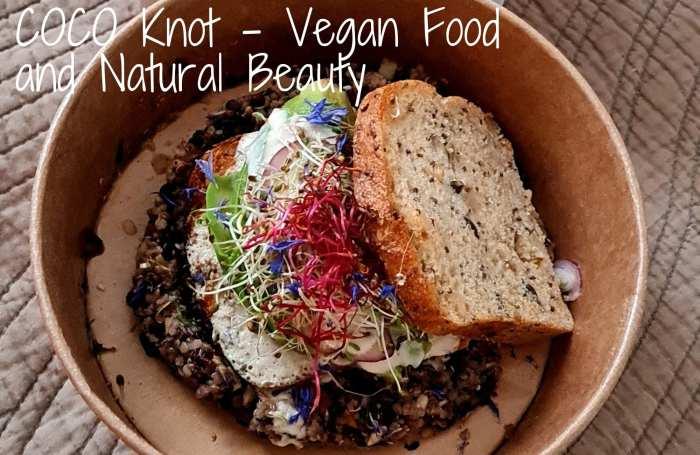 Plat vegan pain graines