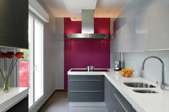 cuisines bicolores quelles couleurs choisir cuisines. Black Bedroom Furniture Sets. Home Design Ideas