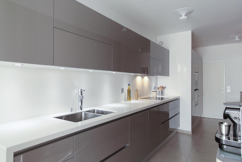 Att nuer l 39 effet couloir en cuisine for Les decoratives tendance cuisine