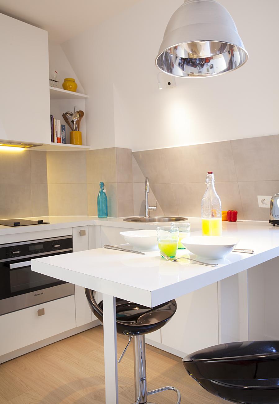 Surmonter les contraintes en cuisine for Petite cuisine laboratoire