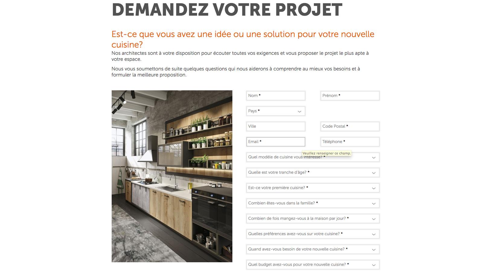 soumettre projet cuisine en ligne c est possible cuisines et bains