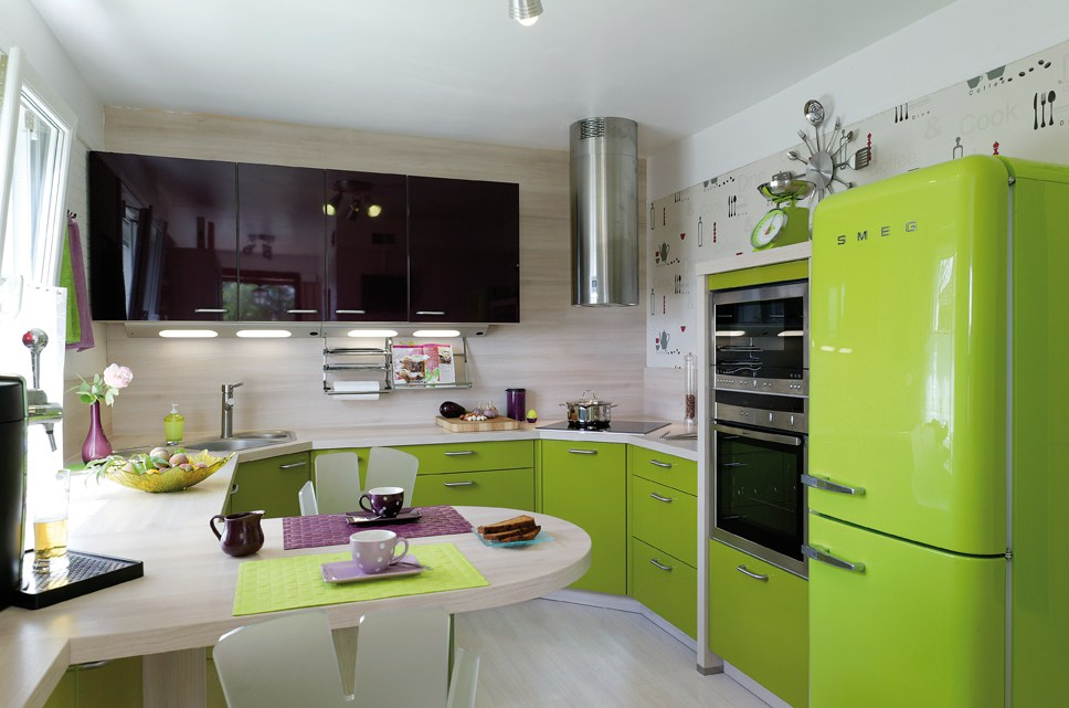 Emejing Amenagement Cuisine En L Ideas - Ridgewayng.com ...