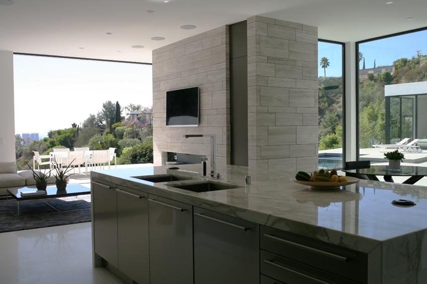 cuisine ouverte pierre