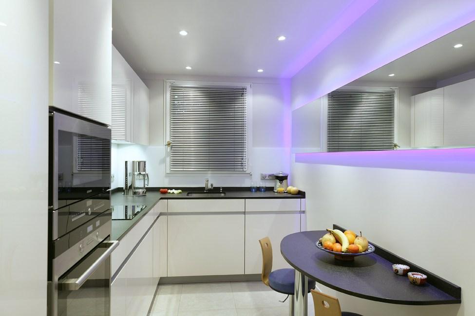 cuisine design en L