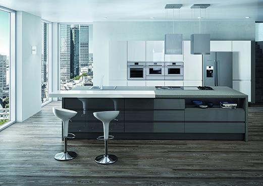 tendances 2017 le plein de nouveaut s cuisines et bains. Black Bedroom Furniture Sets. Home Design Ideas
