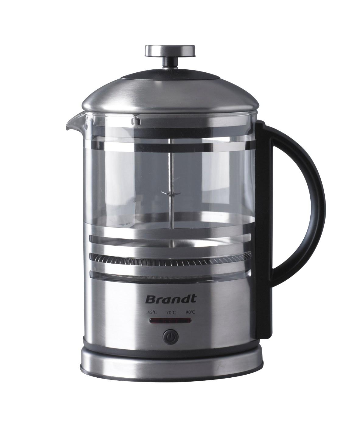 cafetière à piston électrique Brandt