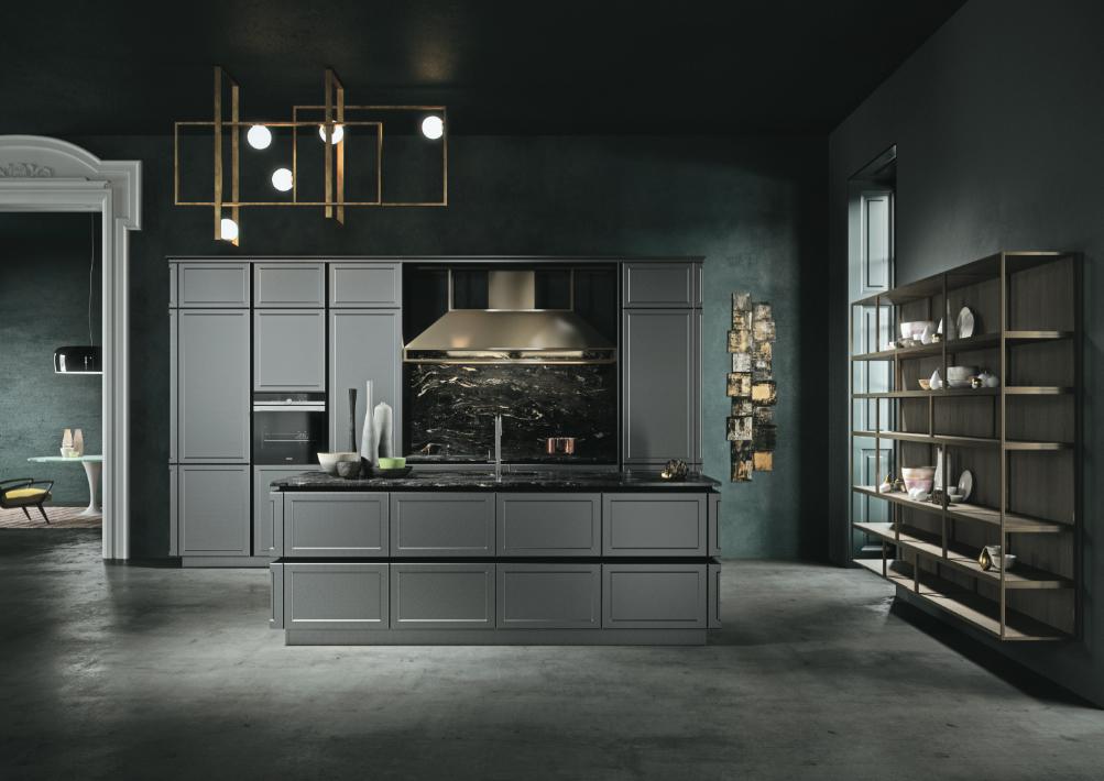cuisine noir design