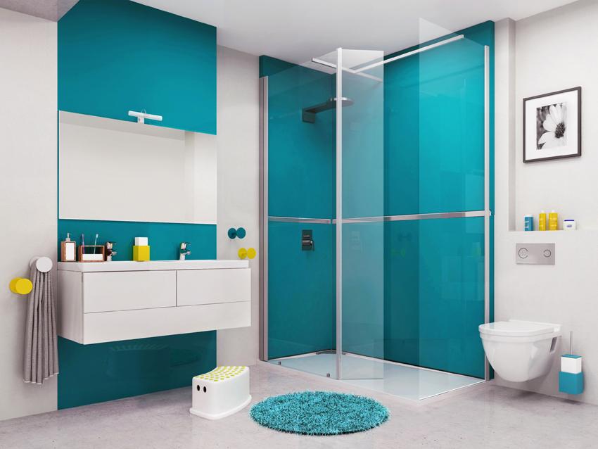 ilea un espace douche sans gros travaux cuisines et bains. Black Bedroom Furniture Sets. Home Design Ideas