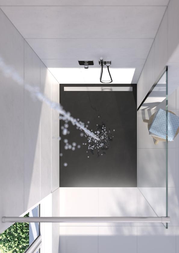 les douches de plain pied wedi belles dehors parfaites dedans cuisines et bains. Black Bedroom Furniture Sets. Home Design Ideas