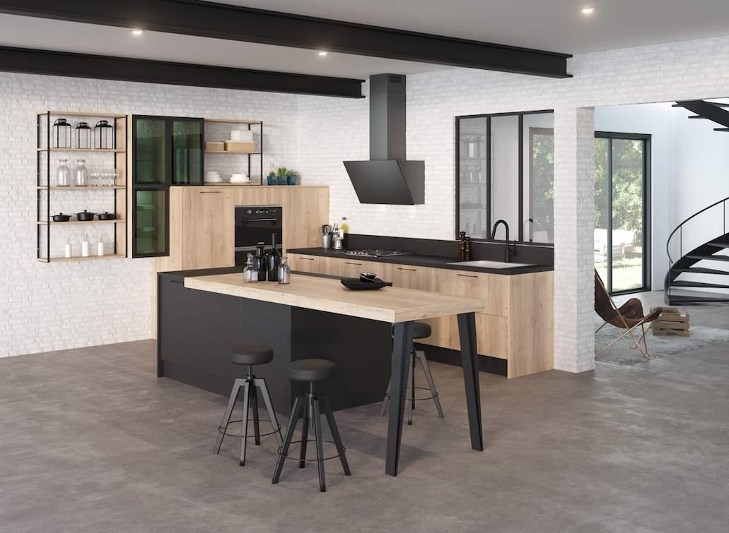 discac le style et l 39 ergonomie l 39 honneur cuisines et bains. Black Bedroom Furniture Sets. Home Design Ideas