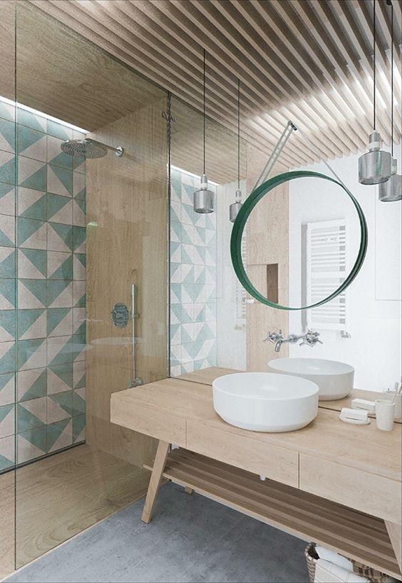 7 salles de bains pour vous faire voyager cuisines et bains. Black Bedroom Furniture Sets. Home Design Ideas