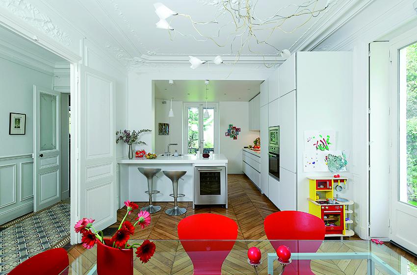 Cuisine Maison Bourgeoise le projet cuisine : la rénovation lourde - cuisines et bains