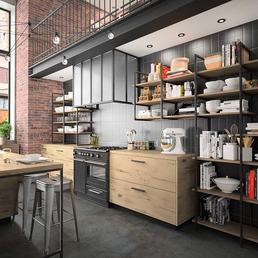 7 cuisines de designers cuisines et bains. Black Bedroom Furniture Sets. Home Design Ideas