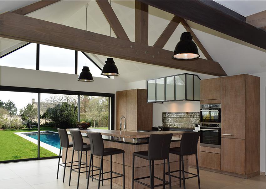morel une cuisine sur mesure esprit atelier cuisines et bains. Black Bedroom Furniture Sets. Home Design Ideas