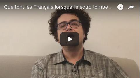 Que font les Français lorsque l'électro tombe en panne ?