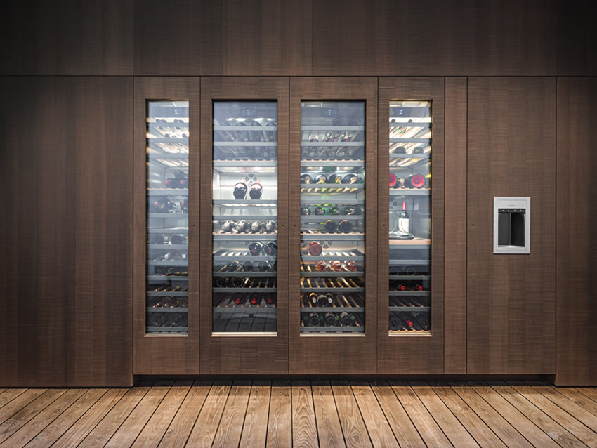 De Nouvelles Caves A Vin Serie 400 Chez Gaggenau Cuisines Et Bains