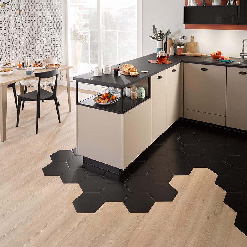 le m tal s 39 affiche en cuisine avec socoo 39 c cuisines et bains. Black Bedroom Furniture Sets. Home Design Ideas