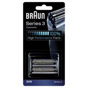 Braun-Combi-Pack-32S-Recharge-Grille-Couteaux-pour-Rasoirs-Nouveaux-Sries-3-390cc-370-0