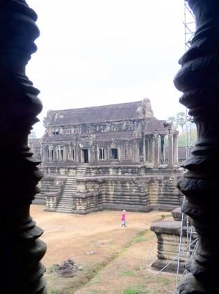 Angkor Wat–library building