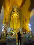Bagan, Myanmar–Ananda Temple, Standing Buddha