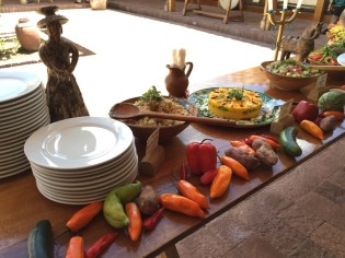 Chinchero–Buffet display