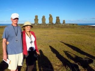 Easter Island–Ahu Tahai altar