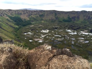 Easter Island–Ranu Kau Crater
