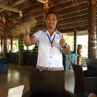 Samoa-Fanning away the flies