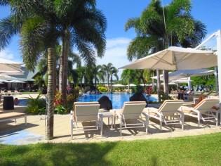 Samoa–Pool at Aggie Grey's Resort