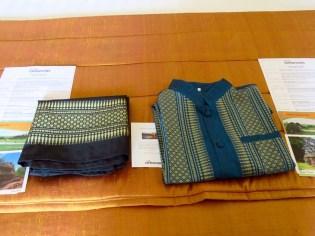 Siem Reap–Raffles hotel, silk gifts