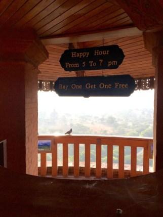 Bagan, Myanmar–Aureum Palace, Sign In Tower
