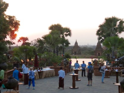 Bagan, Myanmar–Welcome Cocktail Party