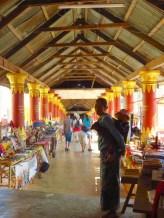 Inle Lake, Myanmar–Shopping Arcade At Shwe Inn Dain