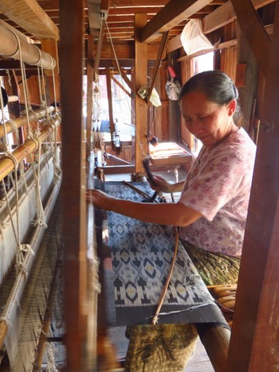 Inle Lake, Myanmar–Silk Weaver