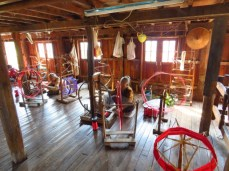 Inle Lake, Myanmar–Spinning Silk Thread