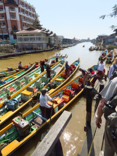 Myanmar–Inle Lake Boat Launch Site2