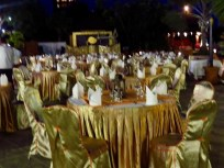 Special Dinner Gold Tables, Bagan