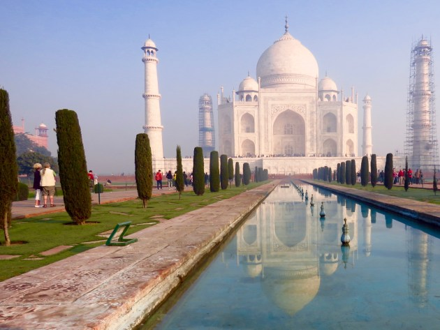 Taj Mahal–Reflecting Pool