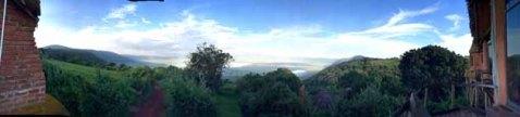 Tanzania–Ngorongoro Crater Lodge Panorama