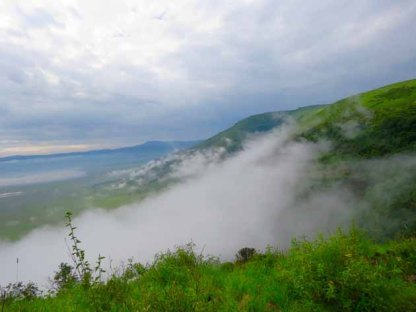 Tanzania–Ngorongoro Crater In The Mists