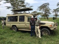 Tanzania Ngorongoro Crater Don And Our Guide