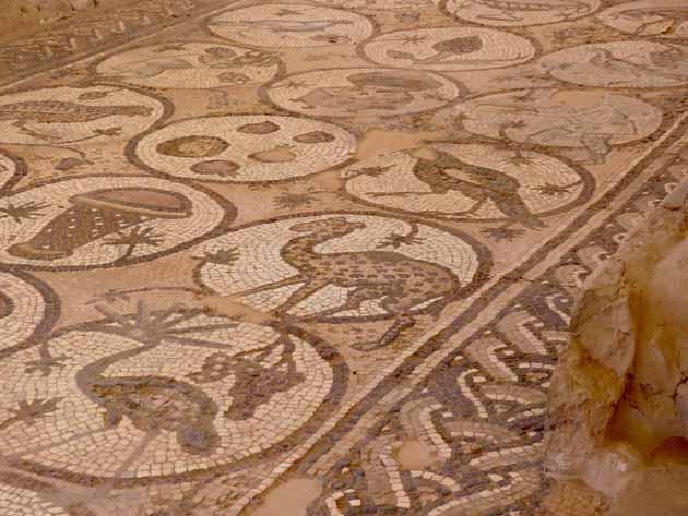 Petra–Mosaics In Byzantine Church4