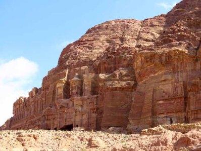 Petra–Palace And Corinthian Tombs