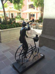 Whimsical Sculpture at Rosewood Hotel, San Miguel de Allende