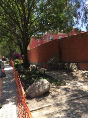 Street approaching Rosewood Hotel, San Miguel de Allende