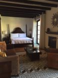 Our room at Rosewood Hotel, San Miguel de Allende