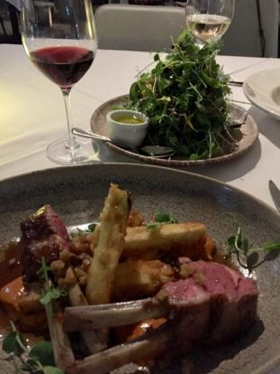 Auckland, NZ–Rack of Lamb at Soul Restaurnat