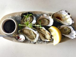 Manly Fish House–Oysters with Chili Sauce